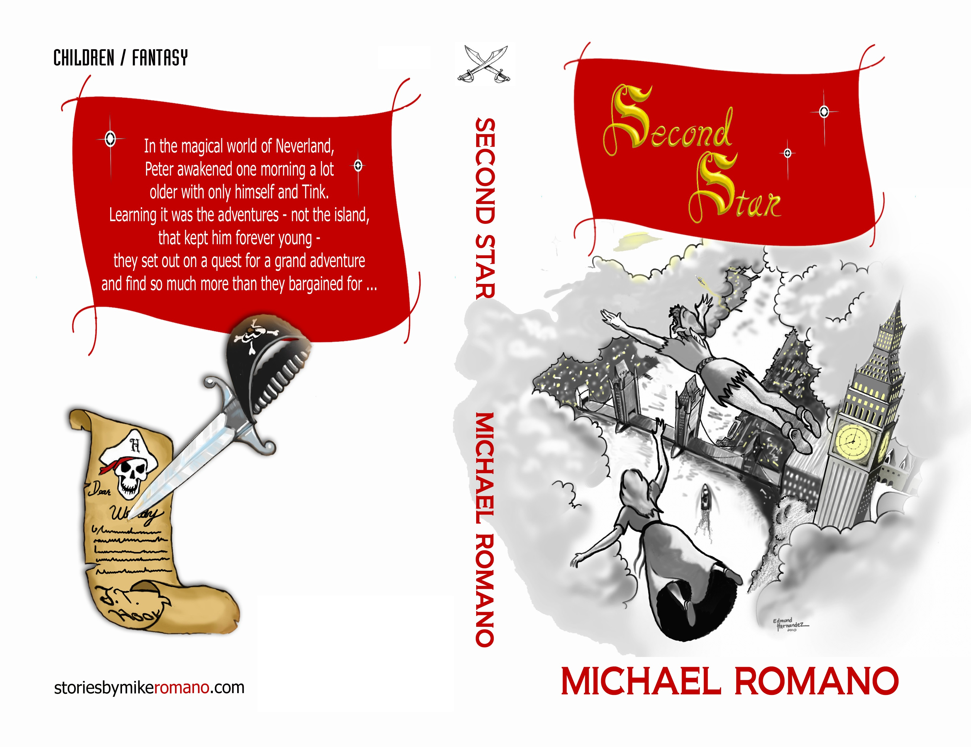 SECOND STAR NOW AVAILABLE ON KINDLE AND AMAZON AND FLOREY'S BOOKS
